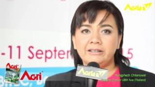 Agri TV: Food Ingredients Asia 2015 (Fi Asia) Thailand. Big Trade Show