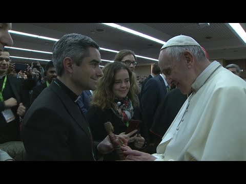 Pope Francis to youth at Pre-Synodal Meeting: Take risks, speak frankly and freely
