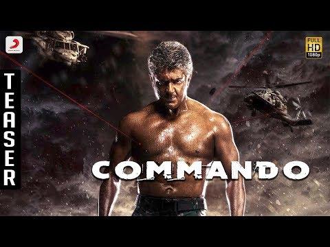 Commando Kannada Official Teaser   Ajith Kumar   Siva   Anirudh Ravichander