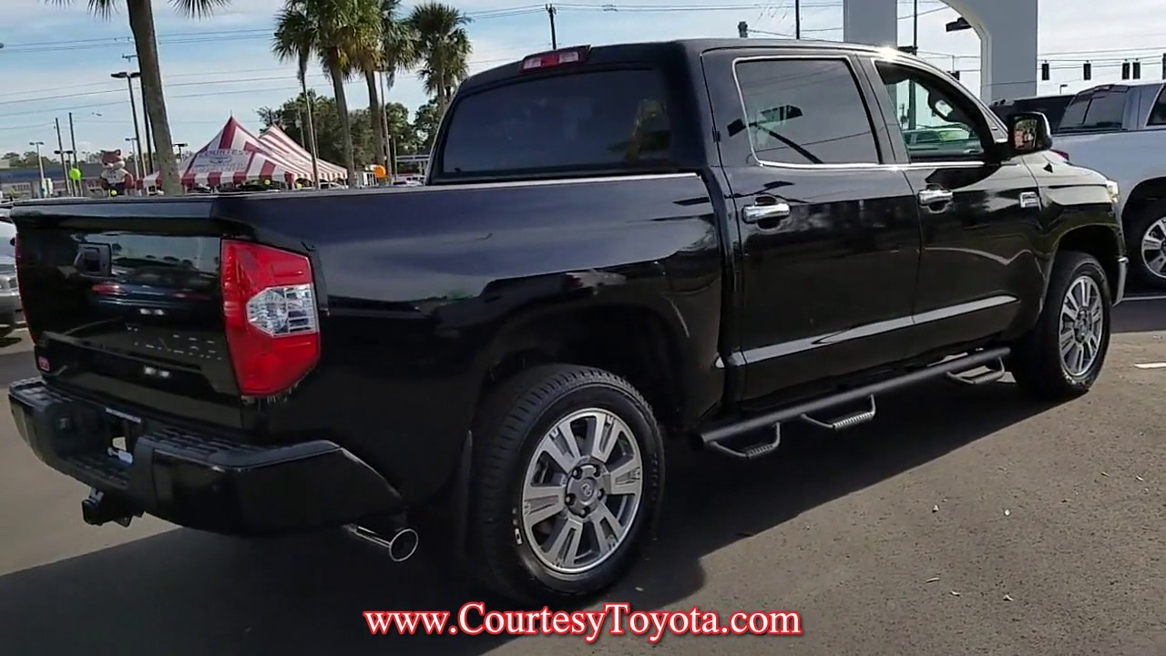 New 2017 Toyota Tundra 1794 Edition Crewmax 5 5 Bed 5 7l