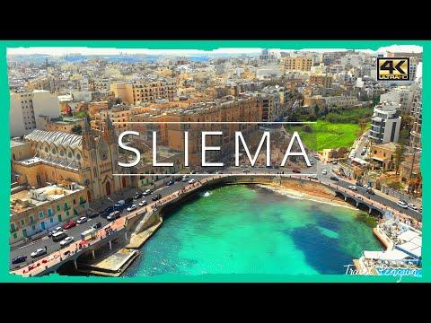 MALTA ● Sliema [2019] Cinematic DRONE 4k📷