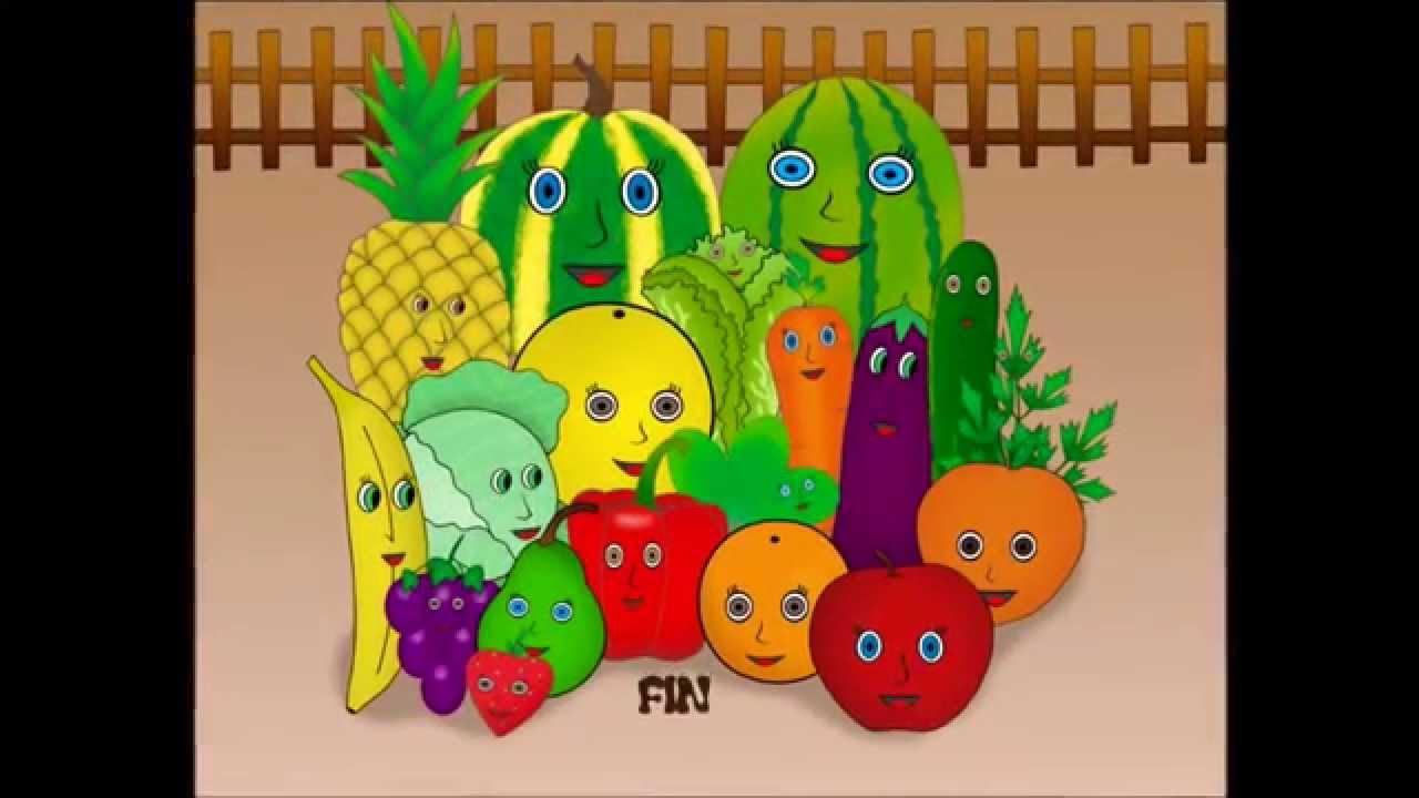 cuentos infantiles de las frutas y verduras