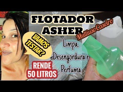 MULTIUSO CASEIRO/ FLOTADOR ASHER/ RENDE 50 LITROS