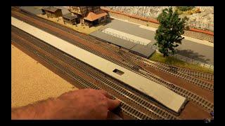 Modelleisenbahn H0 (Bau meiner meiner neuen Modelleisenbahn) Teil 16 Bahnhofs Erweiterung
