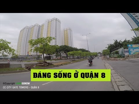 Chung cư City Gate Towers, Võ Văn Kiệt, P.16, Quận 8 - Land Go Now ✔