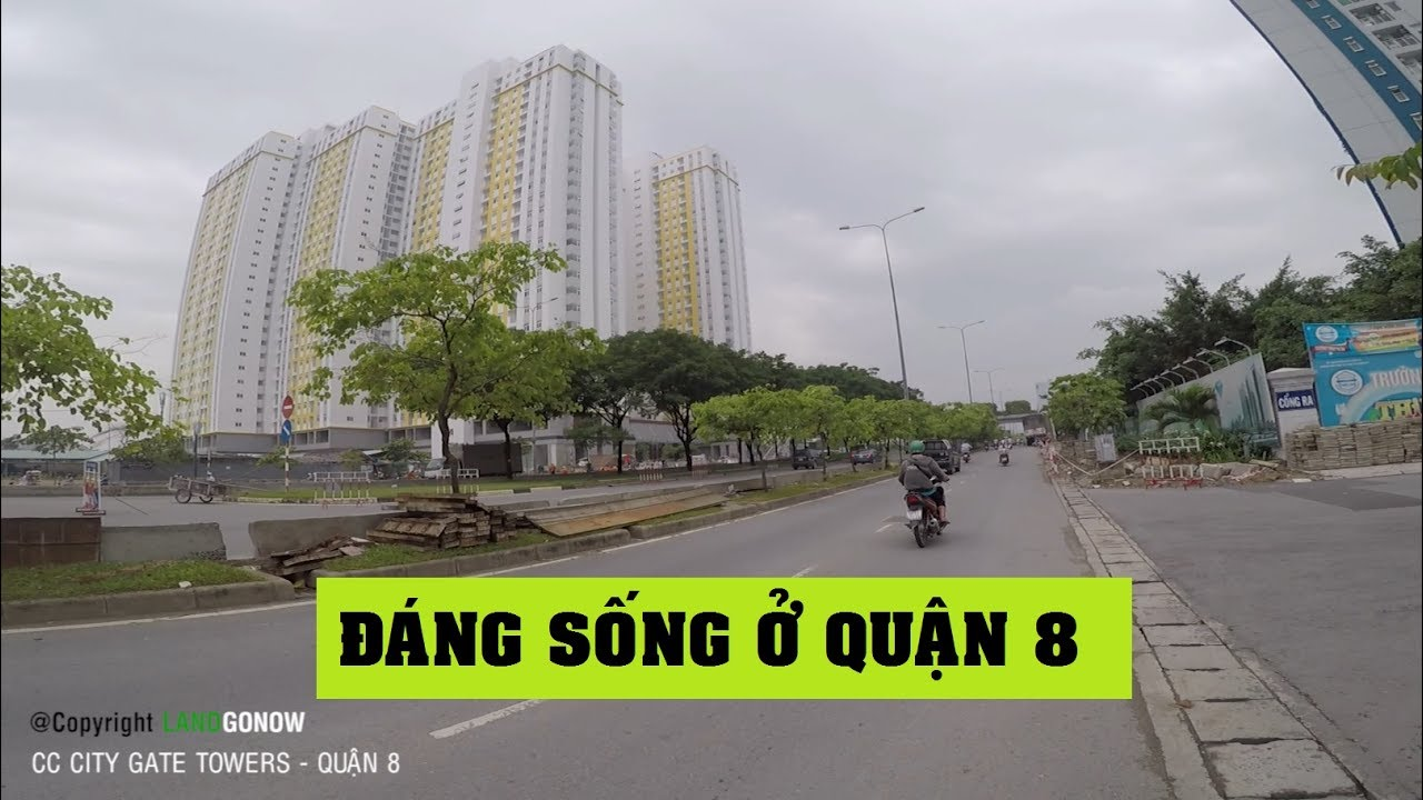 Chung cư City Gate Towers, Võ Văn Kiệt, P.16, Quận 8 – Land Go Now ✔