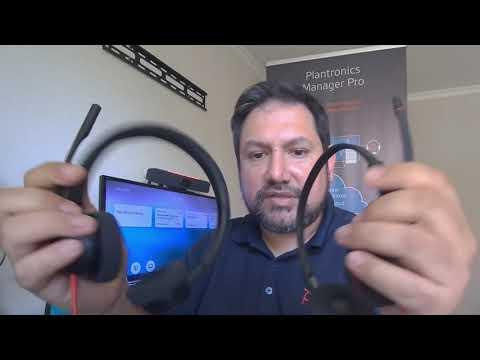 Comparativa de headset Poly Blackwire serie 3300 con serie 3200