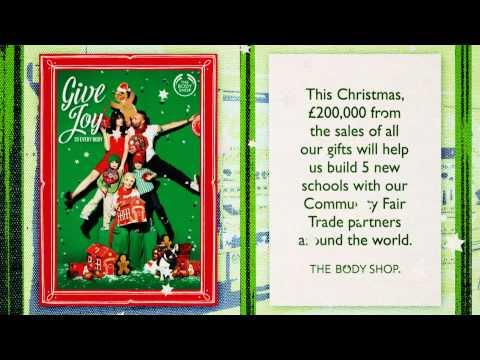 The Body Shop - Charlotte Church 'Joy To The World'