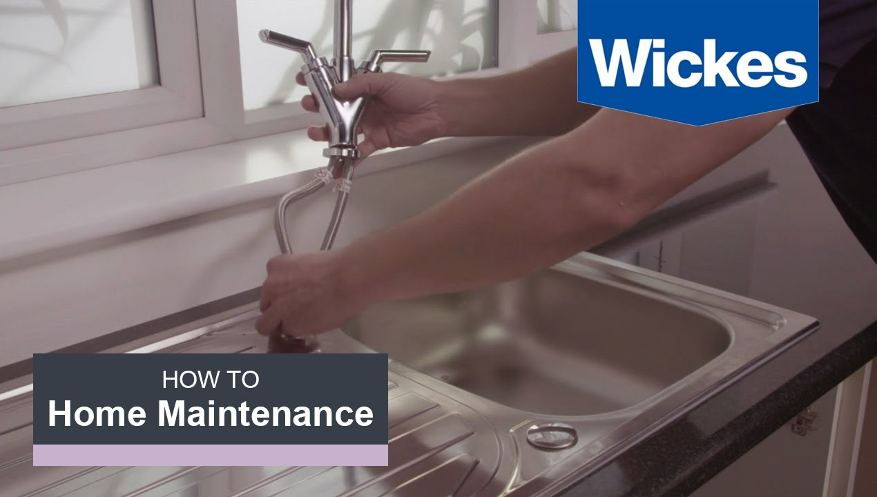 How To Remove And Replace A Kitchen Tap With Wickes Youtube