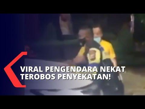 Download Videonya Terobos Penyekatan PPKM Darurat di Karawang Viral, Ini Klarifikasi Pengendara