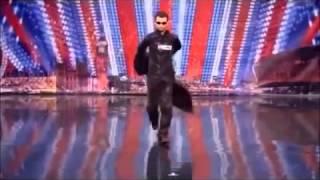 Матрица перед ним встал весь зал!!!