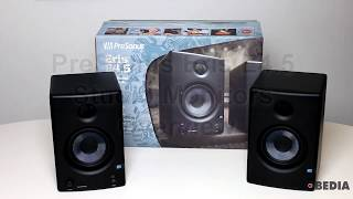 Hardware Wednesday: PreSonus Eris E4 5 Studio Monitors