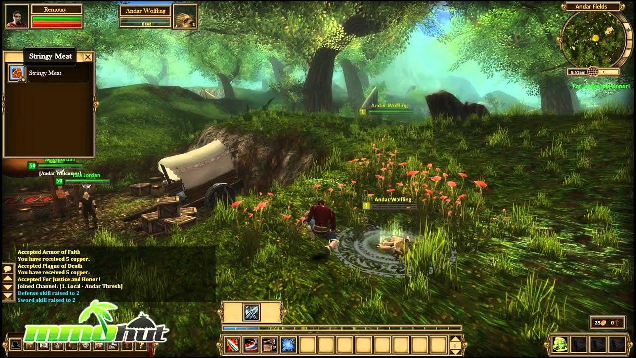 Alganon Gameplay - First Look HD - YouTube
