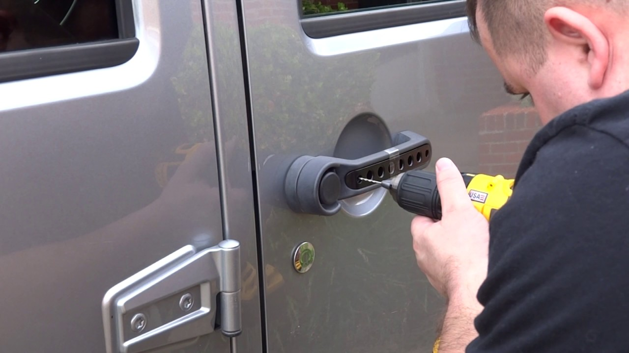 Jeep Wrangler Jku Door Handle Inserts Installation Youtube