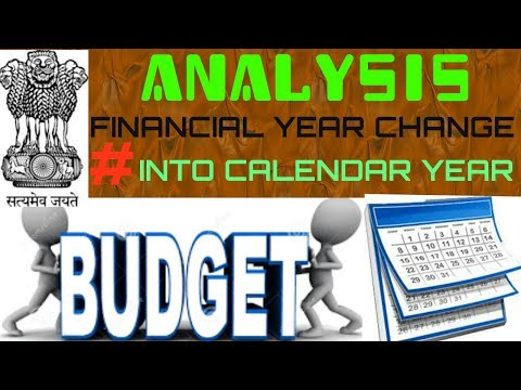 Financial year change into calendar year in india