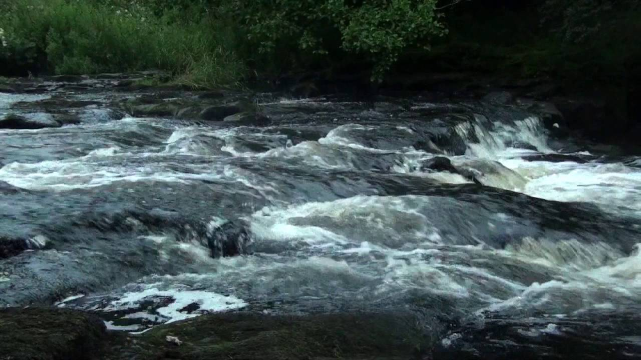 Fast Flowing River Sounds - 1 Hour - Relax With Nature ...