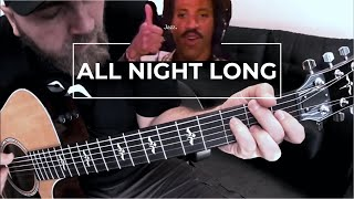 Lionel Richie - All Night Long (Acoustic Instrumental)