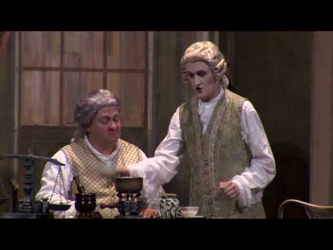 Carlo Torriani sings Geronimo in IL MATRIMONIO SEGRETO by Cimarosa (complete opera, second act)