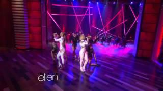 Iggy Azalea & Rita Ora 'Black Widow' (Ellen 09/09/2014)