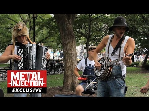 STEVE 'N' SEAGULLS On Becoming YouTube Sensation, Failed Cover Songs & More| Metal Injection