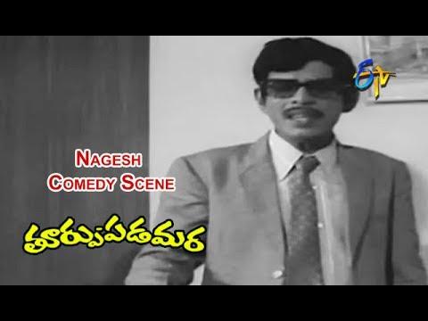 Thoorpu Padamara Telugu Movie   Nagesh Comedy Scene   Narasimha Raju   Srividya   ETV Cinema