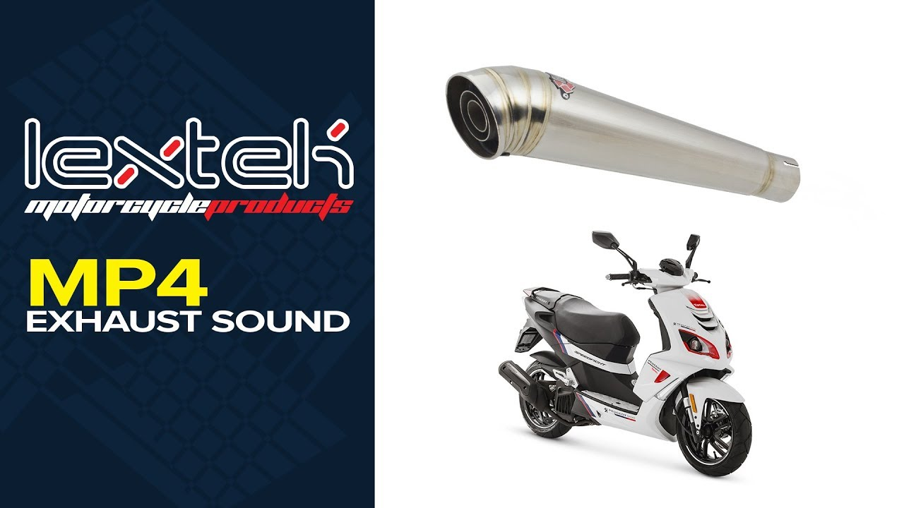 Peugeot Speedfight 2 50 AC  Tecnigas Q-Tre Performance Exhaust