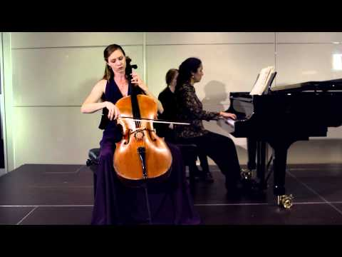 2014 ACA: Cellist Louise McKay performs Dvorak Cello Concert in B Op. 104