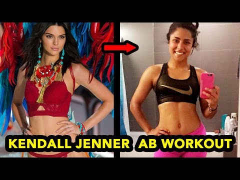TRYING KENDALL JENNER'S AB WORKOUT