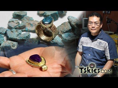 Turquoise Grading Darryl Dean Begay Navajo jewelry artist