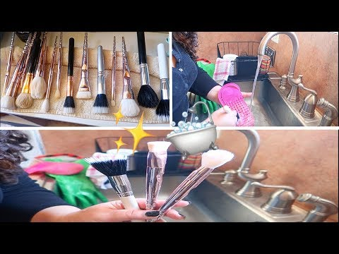 How I Deep Clean My Makeup Sponges and Brushes    MAP Beauty