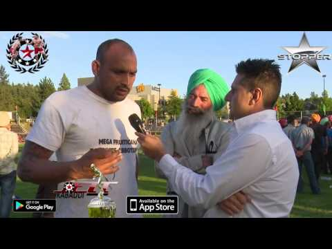 Mangi Baggaphind Interview Youth PG Kabaddi Cup