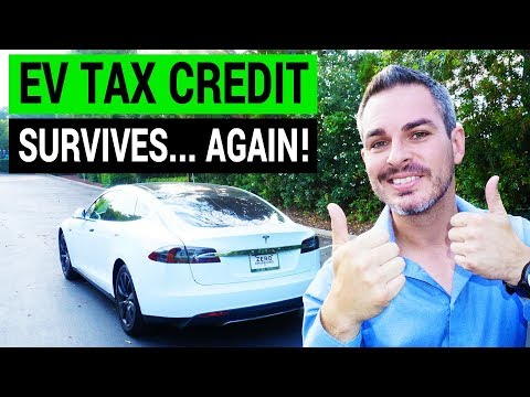 Electric Car Tax Credit Survives the Final Bill Version!