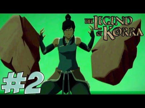 Avatar: The Legend Of Korra Game Walkthrough Part 2 Earth Bending !