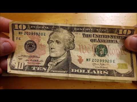 TRINARY & DATE NOTES FOUND Bill Searching For Rare Money