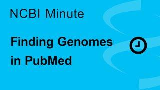 NCBI Minute: Finding Genes in PubMed