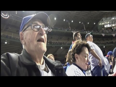 97-Year-Old Chicago Fan Sees Cubs In World Series For First Time Since 1945