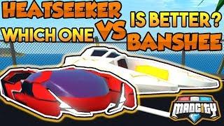 BANSHEE VS HEATSEEKER *Which One Is Better?* | Mad City (ROBLOX)