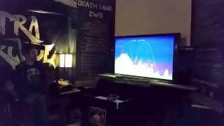 Death Tank 7 player match starts at Ultra Arcade