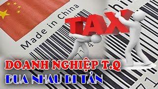 Doanh nghiệp Trung Quốc đua nhau tìm đường di tản Tránh thuế cao
