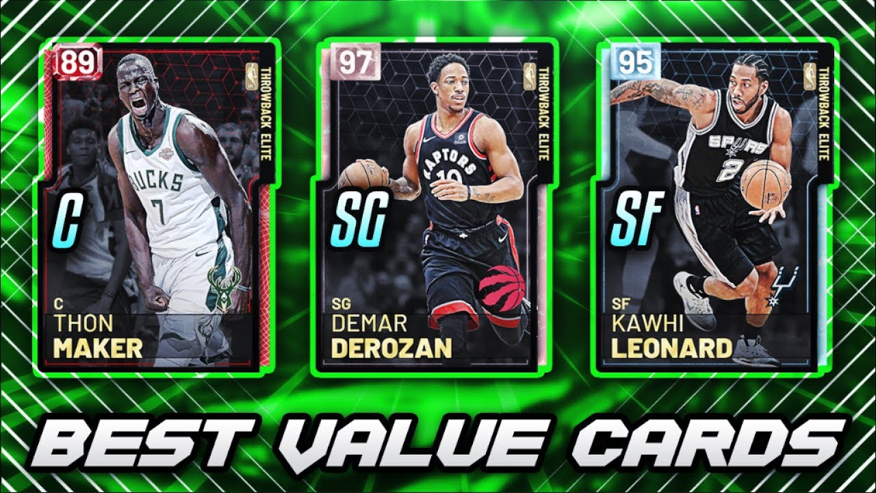 The Best Value Cards At Every Position In Nba 2k19 Myteam