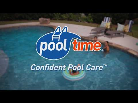 Shock Pool Water Clear With Shock PLUS®:  Pool Time®