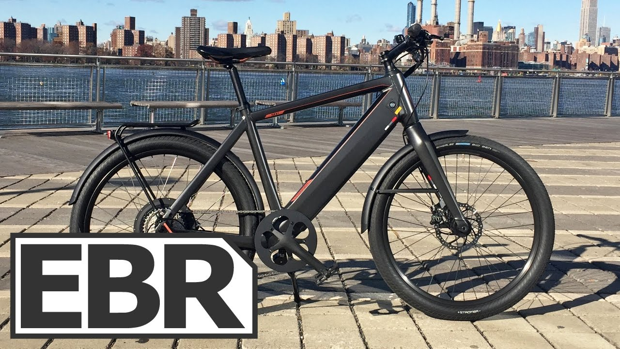 19e4aac51dd Stromer ST1 X Video Review - Sturdy, Fast and Cheaper Than ST2 - YouTube