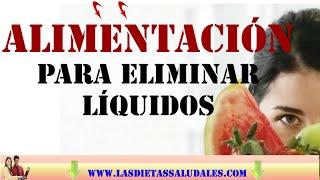 Evitar alimentos liquidos para de la retencion