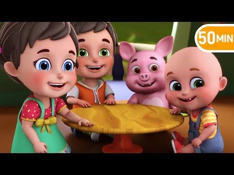 Akkad Bakkad Bambe Bo Rhymes - Hindi Rhymes for children from jugnu kids