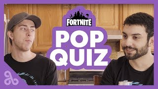 Fortnite Cloud9 Pop quiz with Topboy and Blind