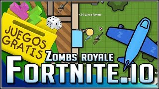 FORTNITE.io!!! (Zombs Royale) Free Games with @dsimphony