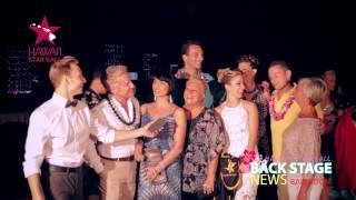 Nicole Carrol, Dan Rutherford and their team on Ballroom BackStage