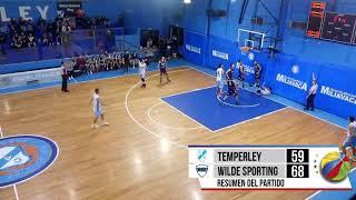 #LigaMetropolitana | Jornada 4 | 26.05.2019 - Temperley vs. Wilde Sporting thumbnail
