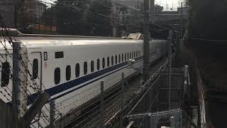 東海道新幹線N700A 小田原〜新横浜間