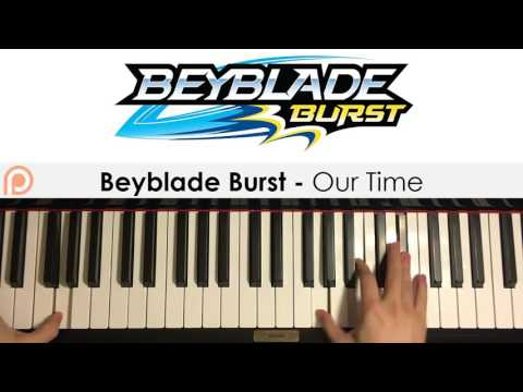 Beyblade Burst Opening Theme - Our Time (Piano Cover) | Patreon Dedication #112
